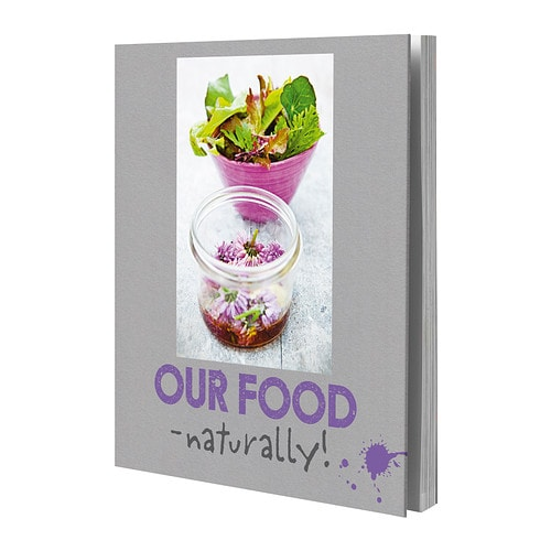 STABIL - OUR FOOD - NATURALLY! Book Height: 28.5 cm Width: 24.5 cm