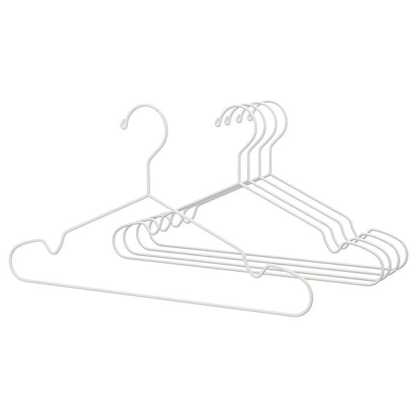STAJLIG hanger, in/outdoor white 41 cm 5 pack