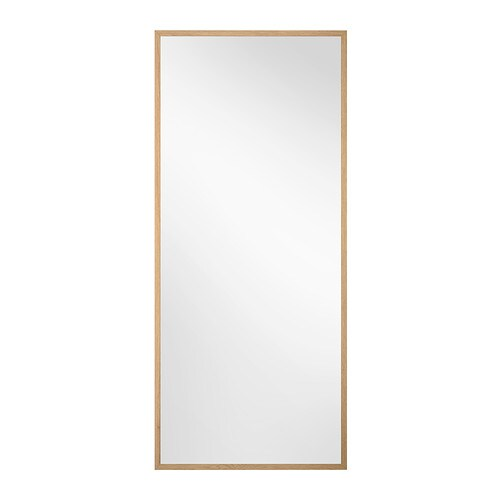 Stave mirror oak effect 70x160 cm ikea for Miroir 160 x 50