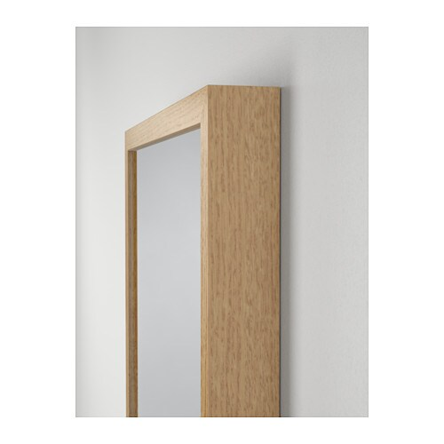 stave mirror oak effect 40x160 cm ikea. Black Bedroom Furniture Sets. Home Design Ideas