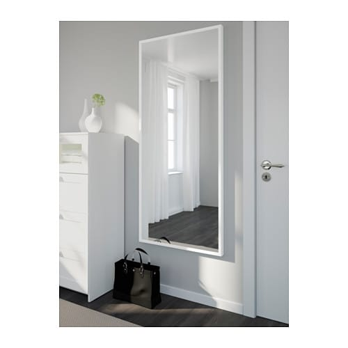 stave mirror white 70x160 cm ikea. Black Bedroom Furniture Sets. Home Design Ideas
