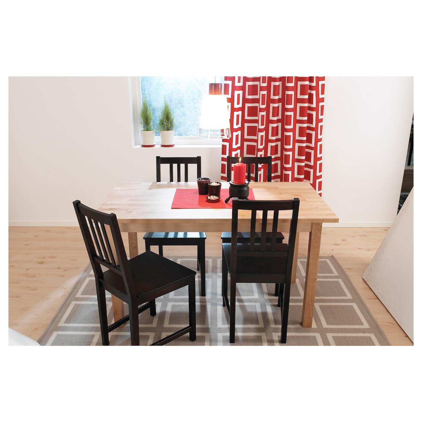 stefan chair brown black ikea. Black Bedroom Furniture Sets. Home Design Ideas
