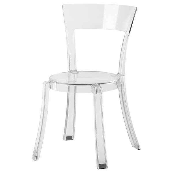 Stein Transparent Chair Ikea