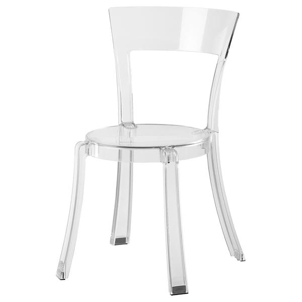 STEIN chair transparent 100 kg 47 cm 54 cm 82 cm 40 cm 42 cm 45 cm