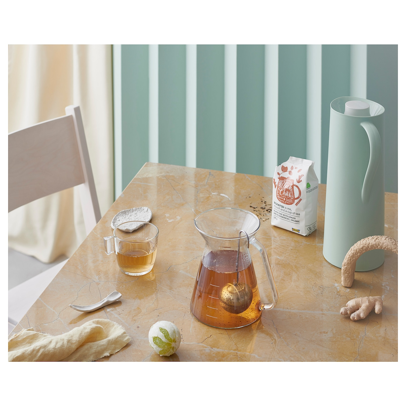 IKEA STELNA mug Made of tempered glass, which makes the mug durable and extra resistant to impact.