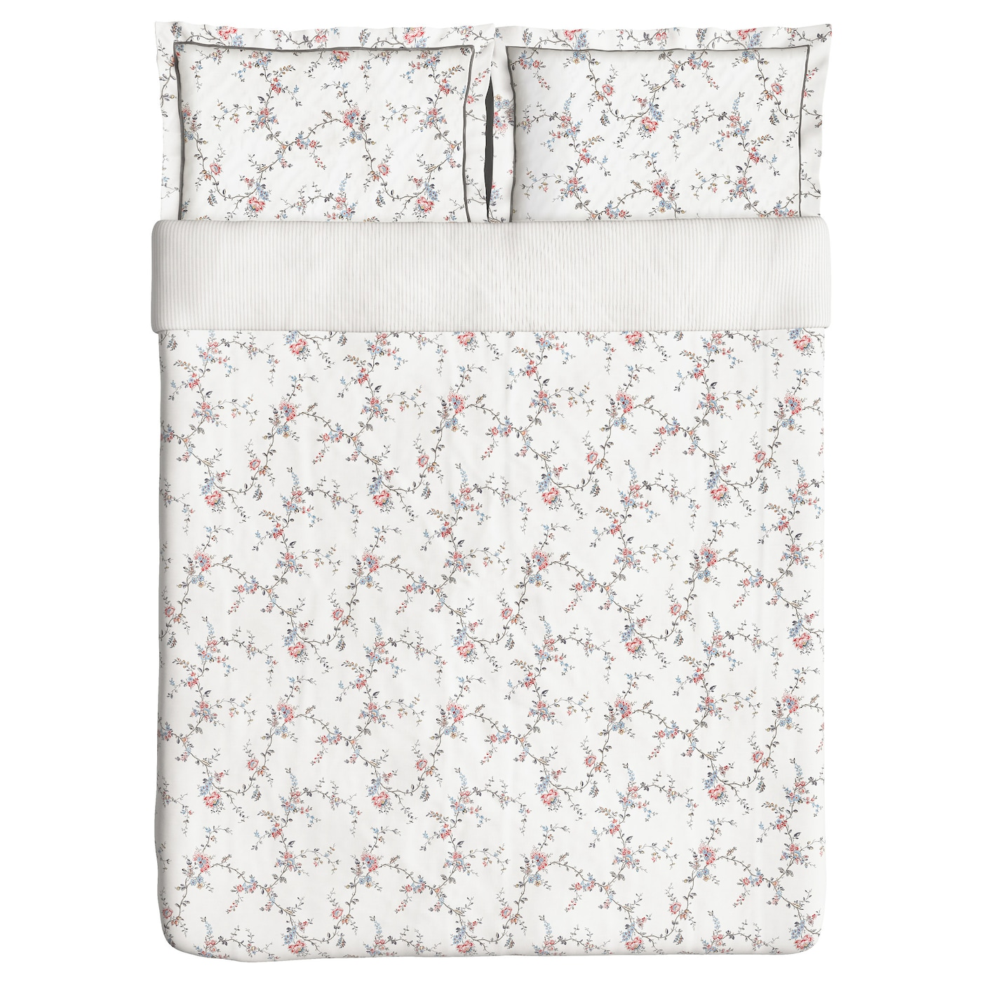 IKEA STENÖRT quilt cover and 2 pillowcases