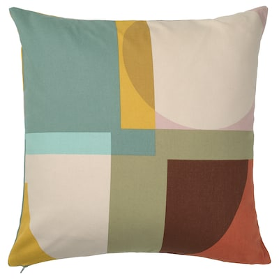 STENMÄTARE Cushion cover, multicolour, 50x50 cm