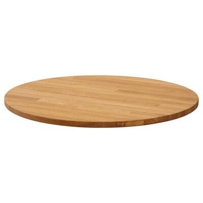 STENSELE Table top, oak, 70 cm