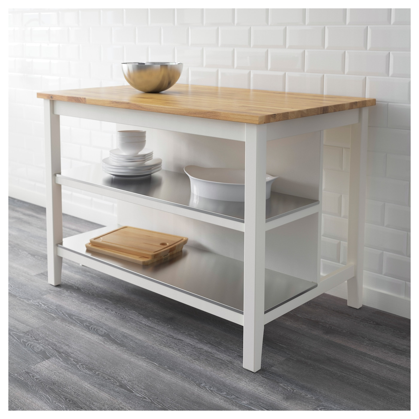 IKEA STENSTORP Kitchen Island Design Inspirations