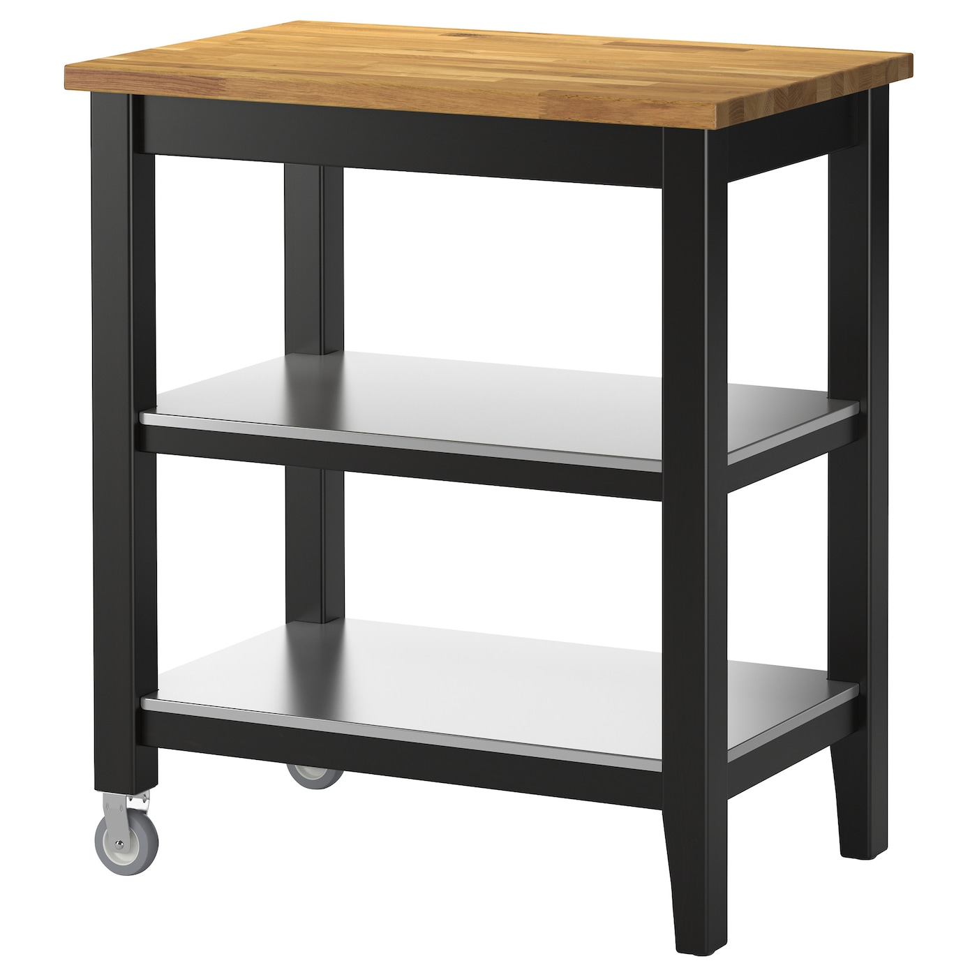 IKEA STENSTORP Kitchen Trolley Gives You Extra Storage In Your Kitchen.