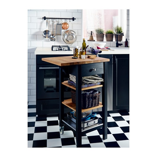 Ikea Stenstorp Kitchen Trolley Gives You Extra Storage In Your Kitchen