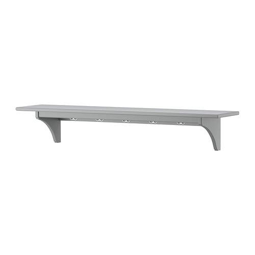 Stenstorp Wall Shelf Grey 120 Cm Ikea