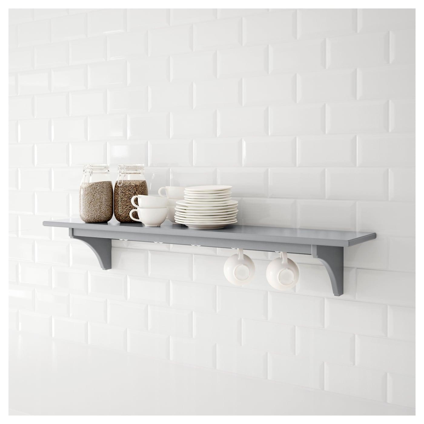 STENSTORP Wall Shelf Grey 120 Cm