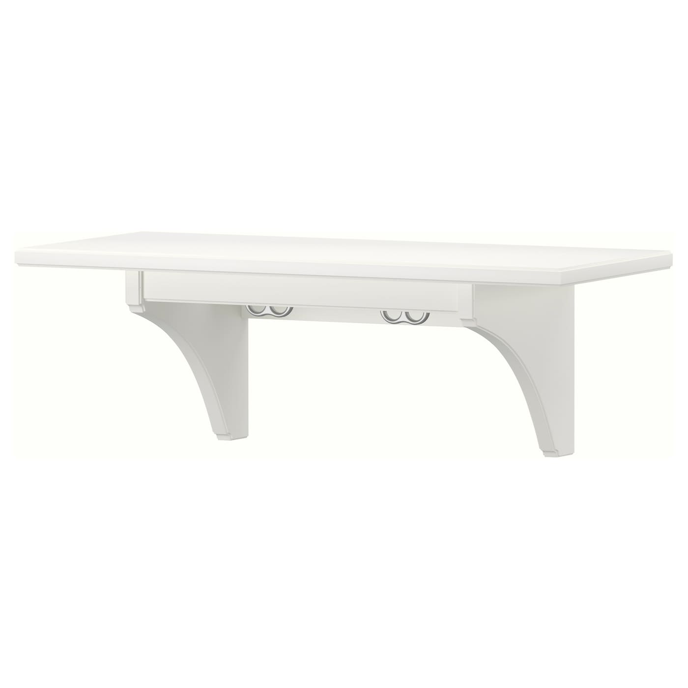 White Kitchen Shelf: STENSTORP Wall Shelf White 60 Cm