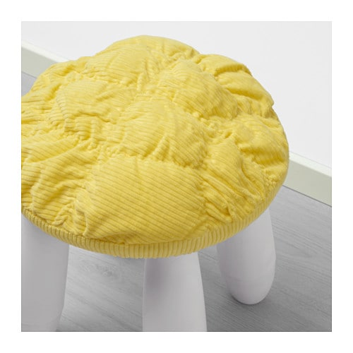 Ikea Stickat Stylish Stool Cover Cotton Polyester