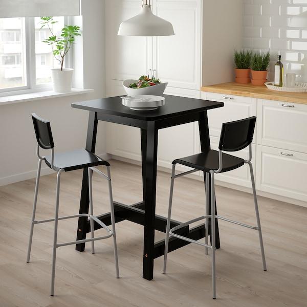 Ikea STIG Bar stool with backrest in