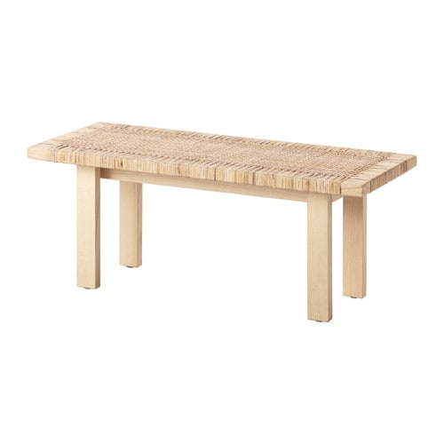 stockholm 2017 coffee table rattan ash 100x40 cm ikea