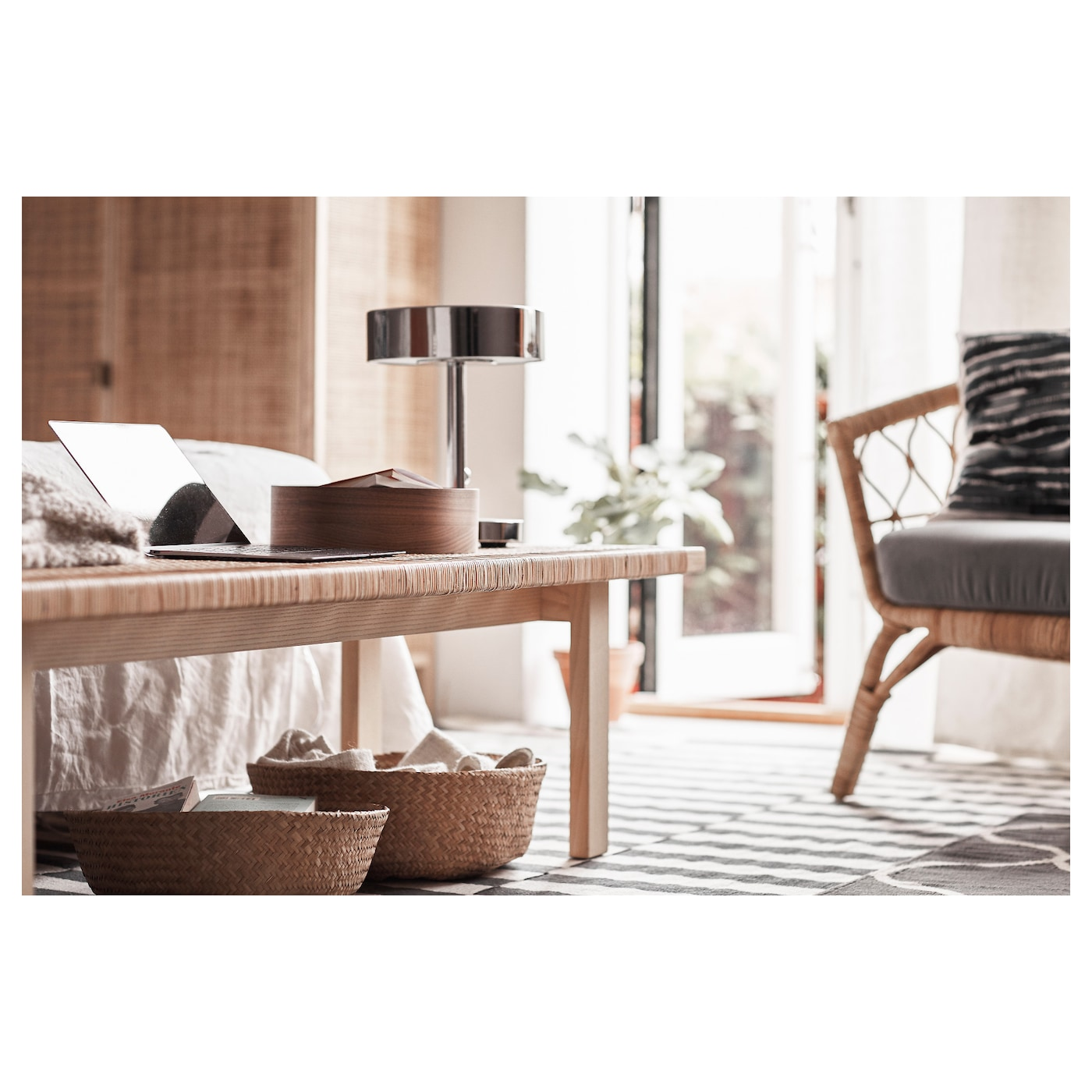 stockholm 2017 coffee table rattan ash 100x40 cm ikea. Black Bedroom Furniture Sets. Home Design Ideas