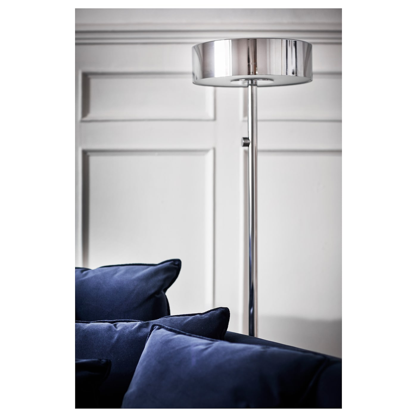 stockholm 2017 floor lamp chrome plated ikea. Black Bedroom Furniture Sets. Home Design Ideas