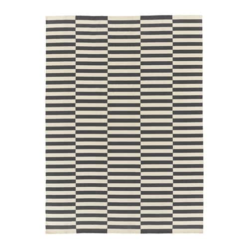 IKEA STOCKHOLM 2017 rug, flatwoven Easy to vacuum thanks to its flat surface.