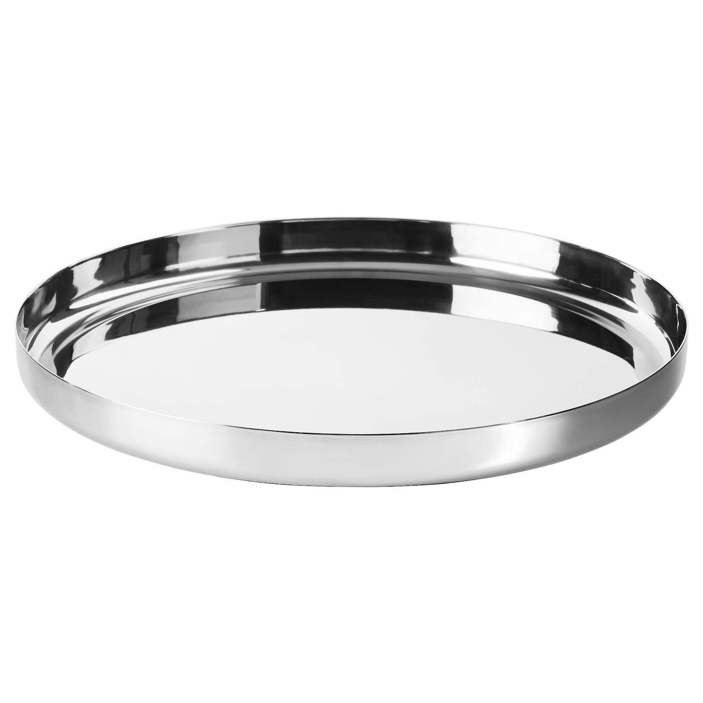 Stockholm 2017 tray stainless steel 40 cm ikea for Miroir rond ikea