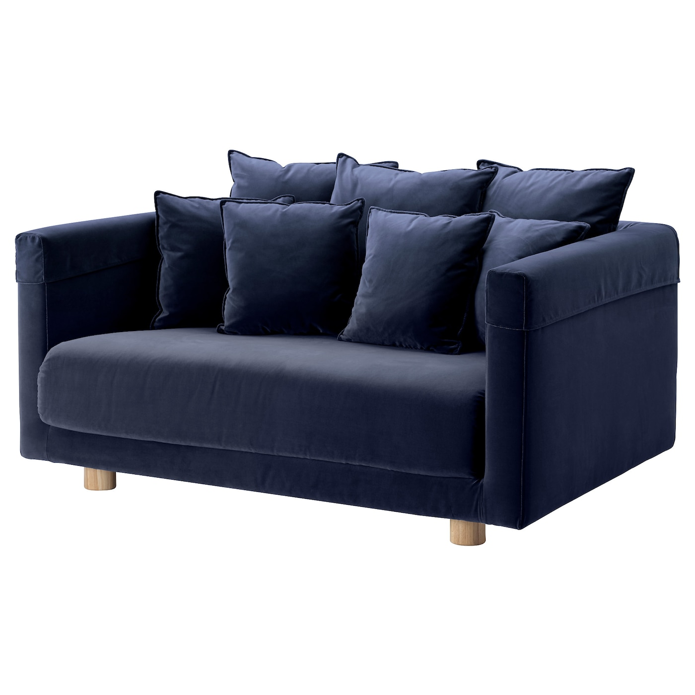 blue sofas ikea vimle 2 seat sofa gr sbo black blue ikea. Black Bedroom Furniture Sets. Home Design Ideas