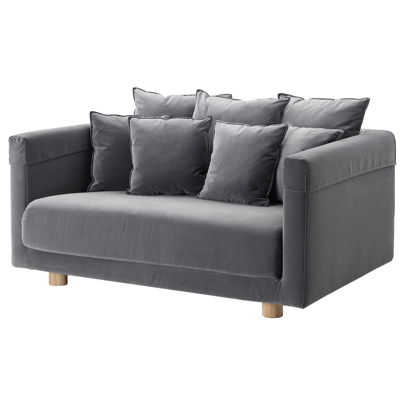 Stockholm 2017 two seat sofa sandbacka dark grey ikea for Stockholm sofa ikea