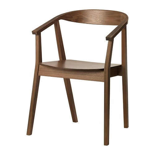 STOCKHOLM Chair, walnut veneer
