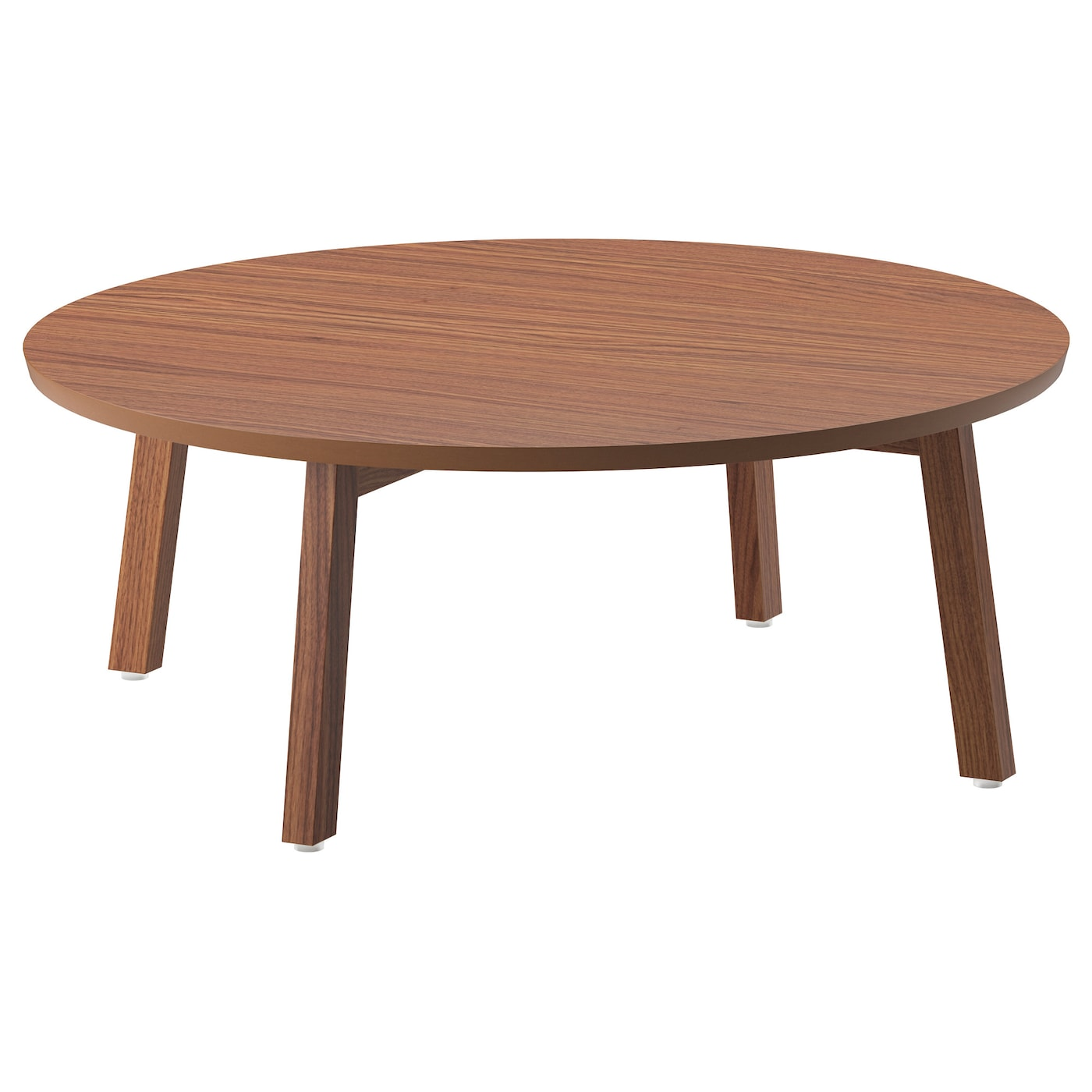 Stockholm coffee table walnut veneer 93 cm ikea for Base de table ikea