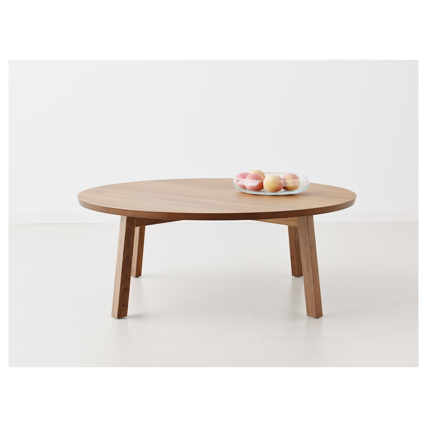 Stockholm coffee table walnut veneer 93 cm ikea - Table basse transformable en table haute ikea ...