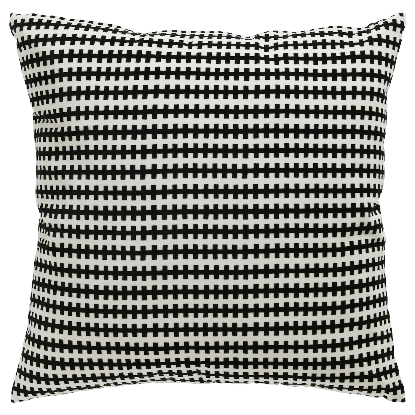 STOCKHOLM Cushion Black white 50x50 cm IKEA