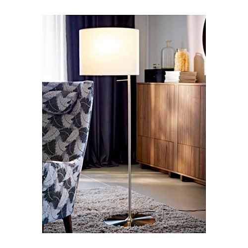 ikea alang floor lamp white. Black Bedroom Furniture Sets. Home Design Ideas