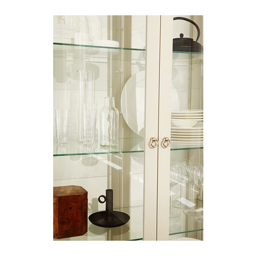 Ikea Stockholm Glass Cabinet Review ~ STOCKHOLM Glass door cabinet Beige 90×180 cm  IKEA