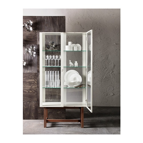 Friheten Ikea Apartment Therapy ~ STOCKHOLM Glass door cabinet Beige 90×180 cm  IKEA