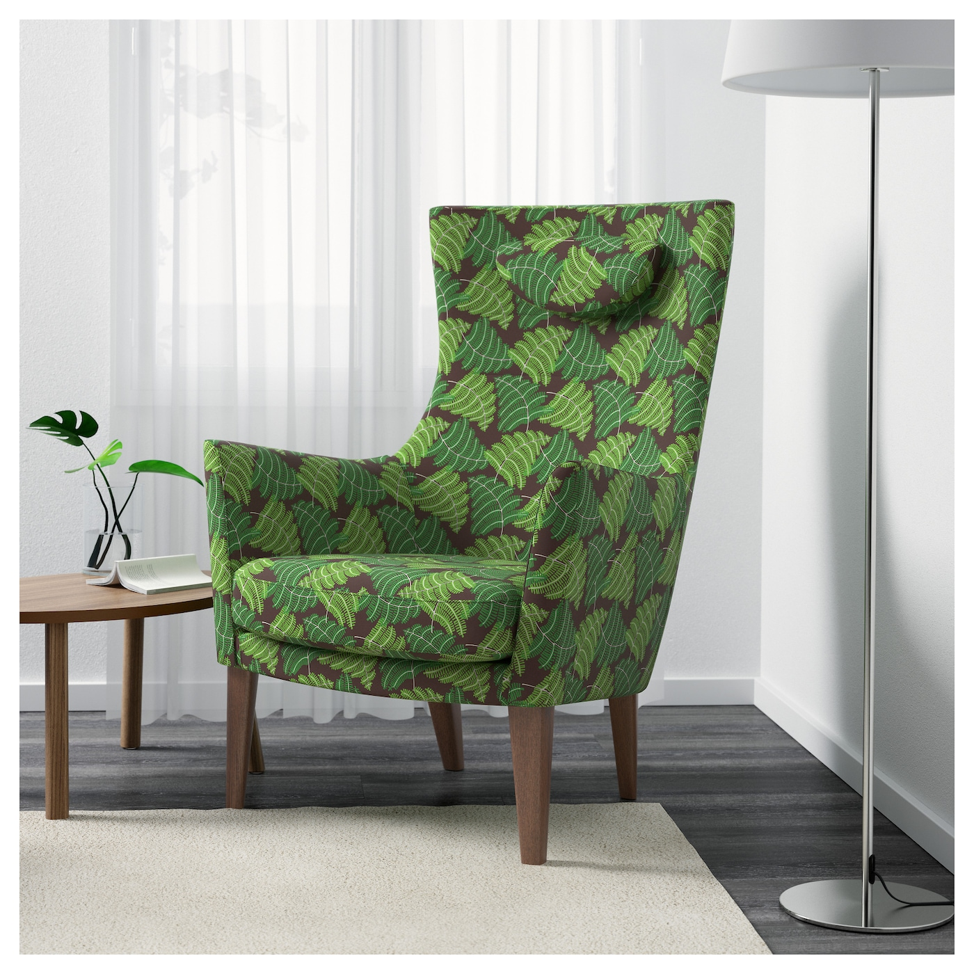 stockholm high back armchair mosta green ikea. Black Bedroom Furniture Sets. Home Design Ideas