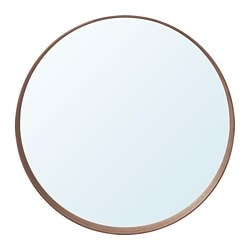 Ikea Stockholm Mirror Provided With Safety Film Reduces Damage If Gl Is Broken
