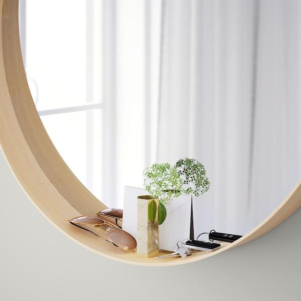 Stockholm Ash Veneer Mirror 80 Cm Ikea
