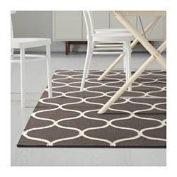 stockholm rug flatwoven handmade net pattern brown 170x240 cm ikea. Black Bedroom Furniture Sets. Home Design Ideas