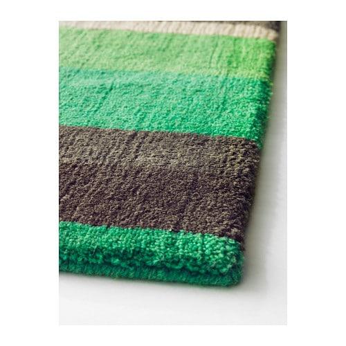 STOCKHOLM Rug, Low Pile Handmade Green 170x240 Cm