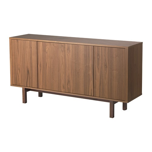 STOCKHOLM Sideboard Walnut veneer 160x81 cm - IKEA