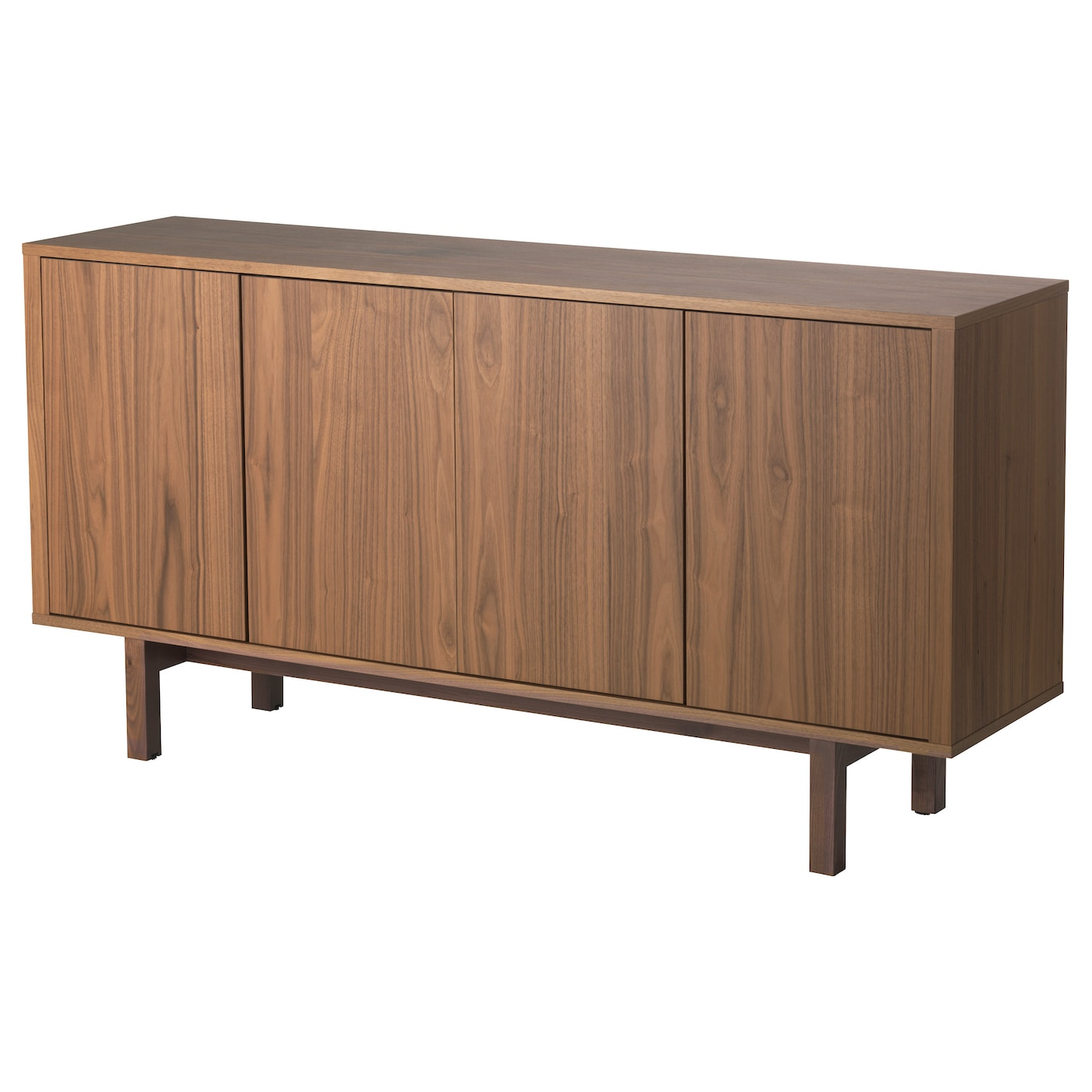 stockholm sideboard walnut veneer 160x81 cm ikea. Black Bedroom Furniture Sets. Home Design Ideas