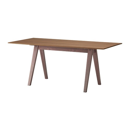 STOCKHOLM Table, walnut veneer
