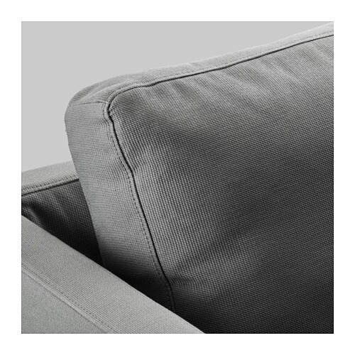 stockholm three seat sofa r st nga grey ikea. Black Bedroom Furniture Sets. Home Design Ideas