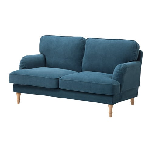 Ikea Stocksund 2 Seat Sofa The Turned Legs Are Made Of Solid Beech