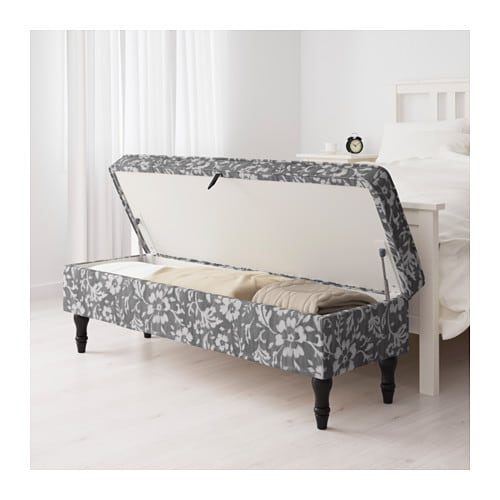 stocksund bench hovsten grey white black wood ikea. Black Bedroom Furniture Sets. Home Design Ideas