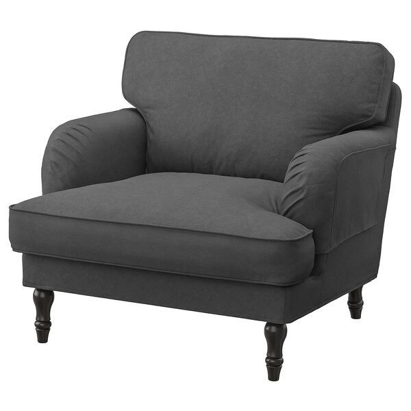 STOCKSUND Cover for armchair - Tallmyra medium grey - IKEA
