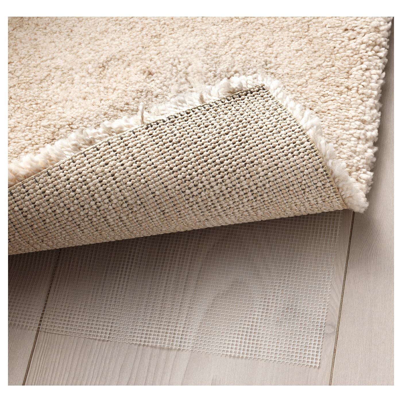 STOENSE Rug, Low Pile Off-white 80 X 150 Cm