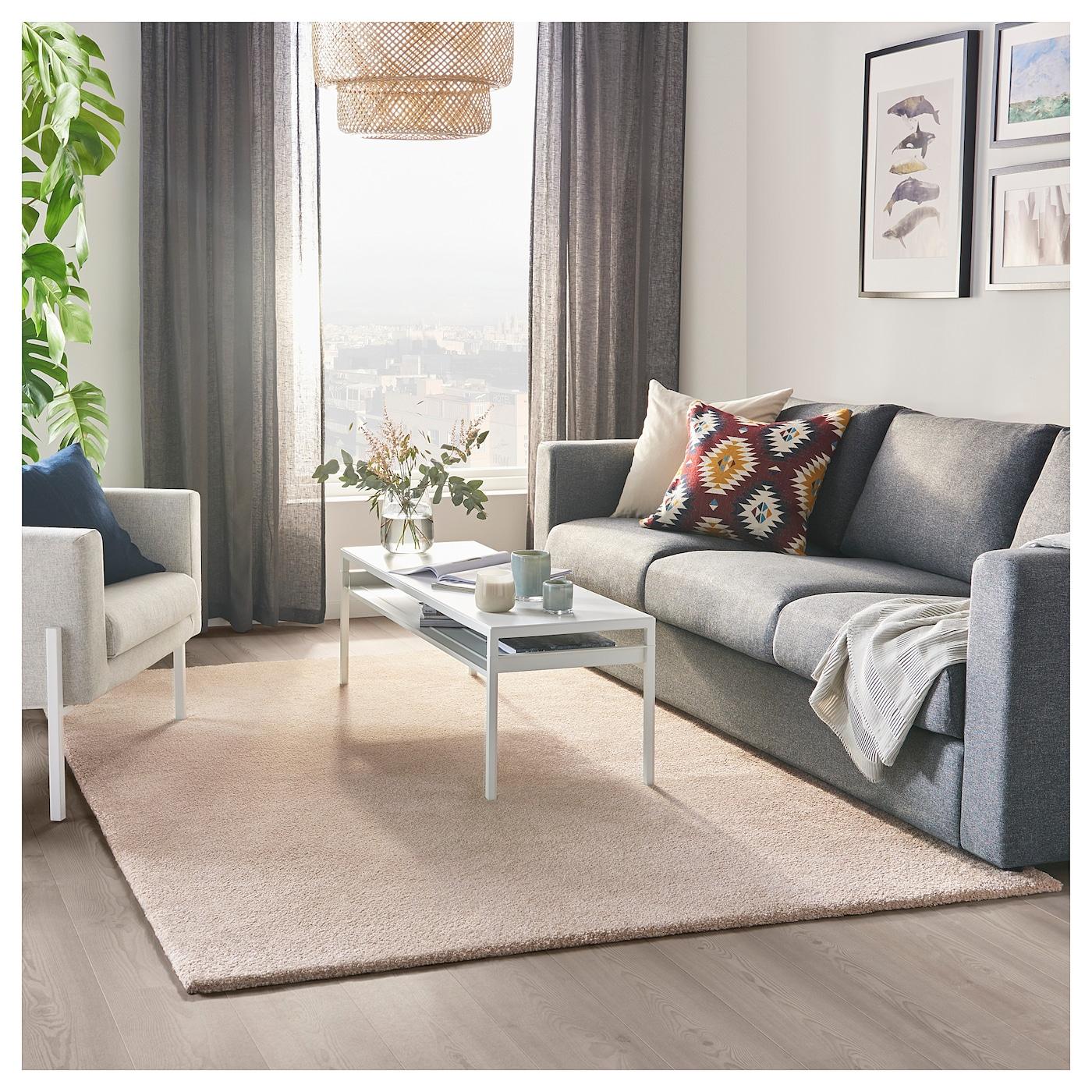 Ikea Off White Area Rug: STOENSE Rug, Low Pile Off-white 170 X 240 Cm
