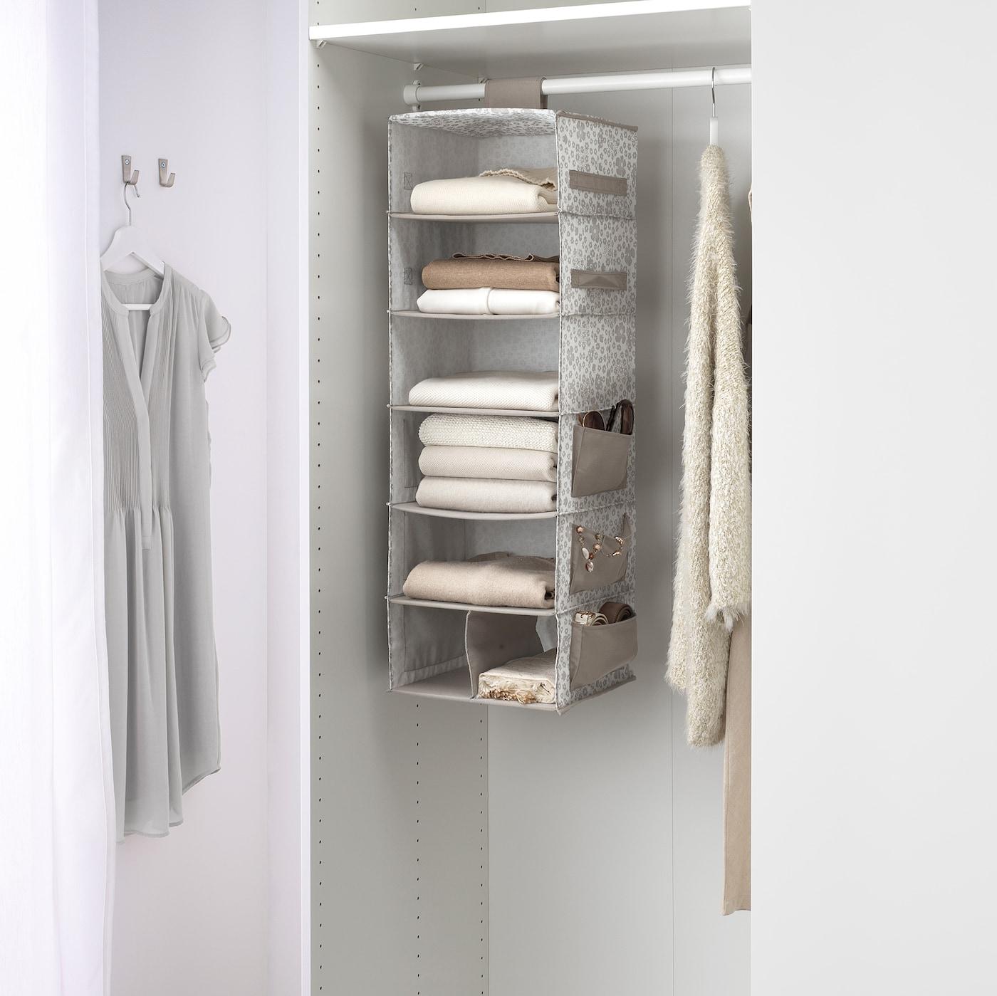 STORSTABBE beige, Hanging storage with