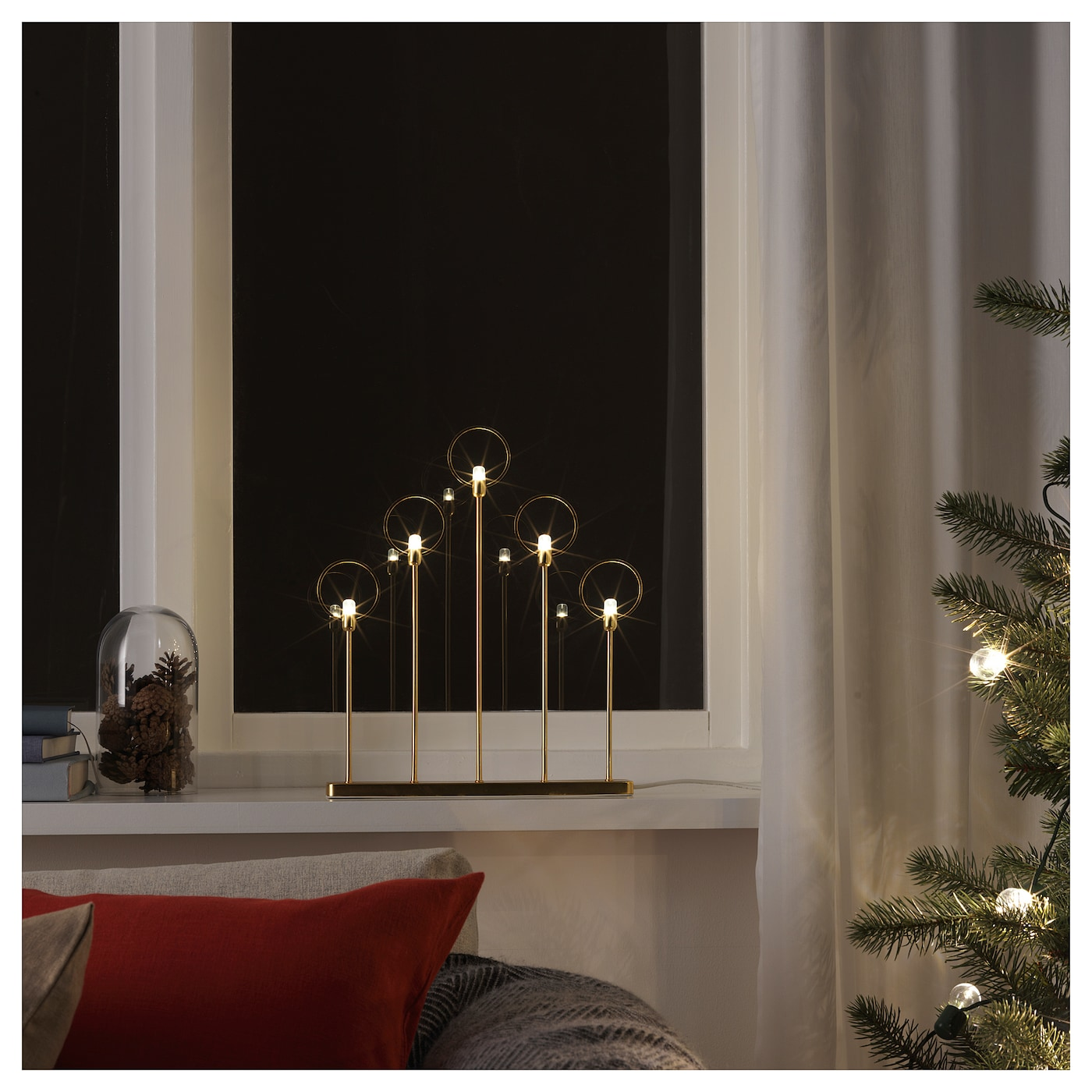 decorative lighting, shades & led candles | ikea